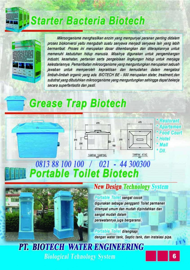 brosur septic tank biotech, jual spiteng, cara kerja, cara pemasangan, harga septic tank biotech, ipal, stp biotek, portable toilet fibreglass, biofive, biogift, septic tank ramah lingkungan