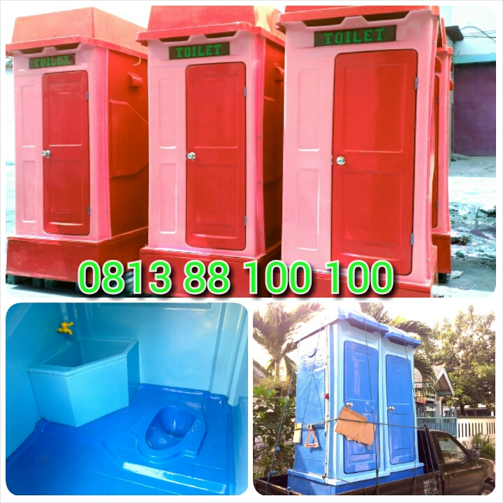 toilet portable fibreglass closet jongkok