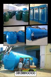 pabrik septic tank biotech modern, grease trap, portable toilet frp